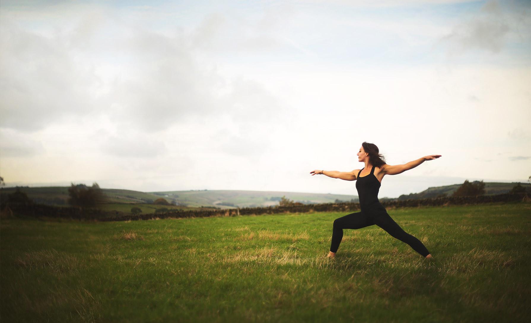 Caron May - yoga teacher, Hebden Bridge, Todmorden, Mytholmroyd